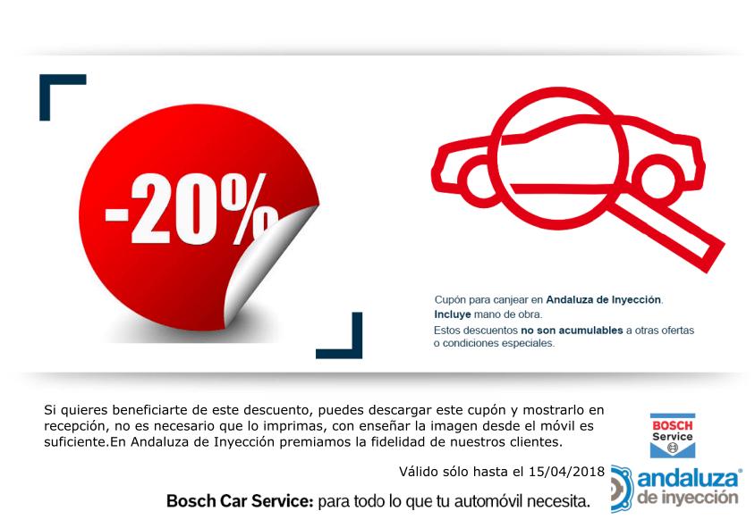 Descuento 20% en taller de vehiculos en Sevilla