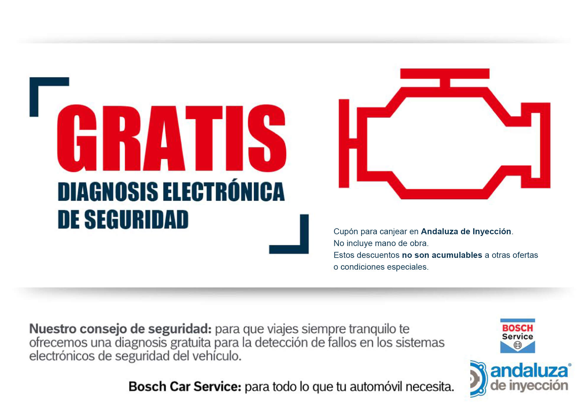 ¡Diagnosis Electrónica de seguridad Gratis!