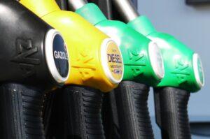 consumo vehículo según su combustible