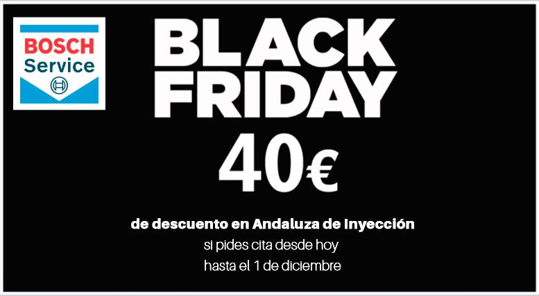 Promoción Black Friday con 40 € de descuento directo en tu factura.**FINALIZADA